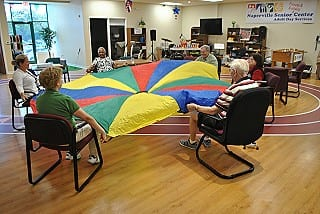 Naperville senior services caregiver respite